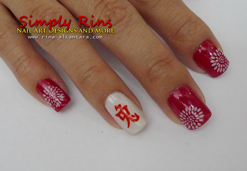 Chinese New Year Nail Art 06