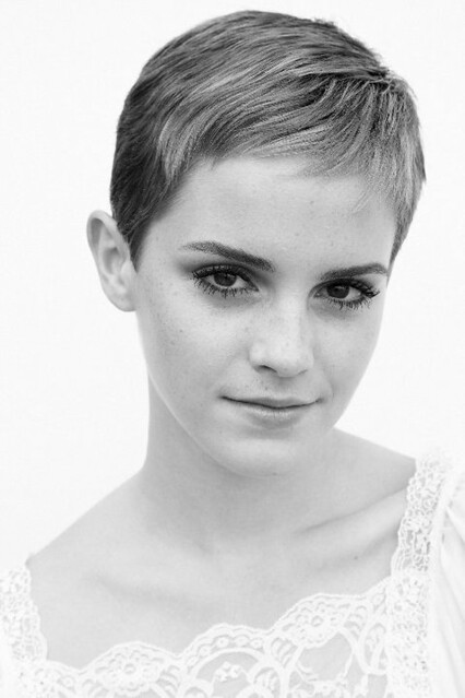 Emma-Watson-Short-Hair by william dowling