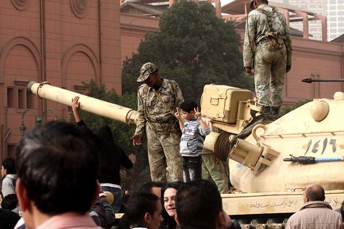 Unruhen in Kairo - Armee neutral
