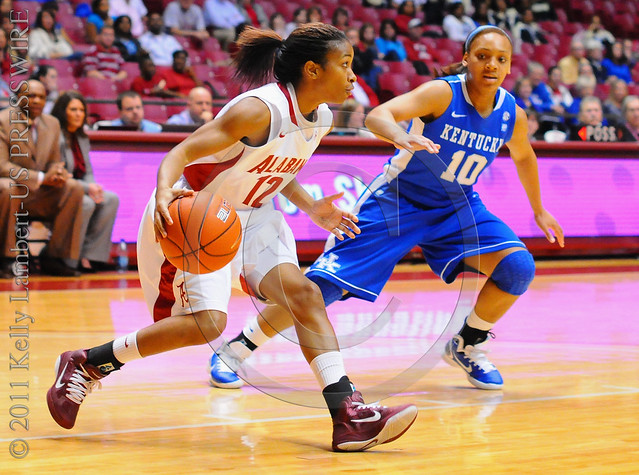 NCAA Womens Basketball: Kentucky at Alabama