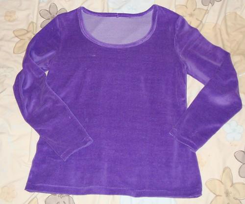 Ottobre CW 303, purple velour