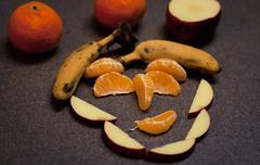 Day 172 (JPI63) Tags: 20d fruit canon bananas apples oranges happyface 50mmf18 lightroom3