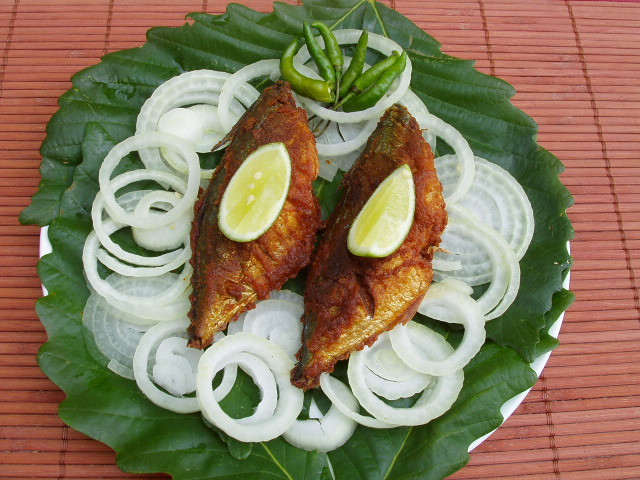 Spicy Mackerel Fry