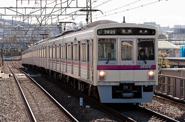 京王電鉄7000系 7421F