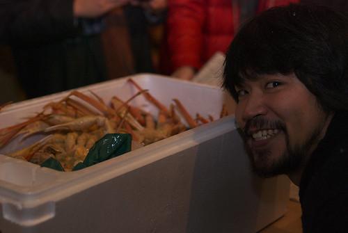 蟹と webnist さん