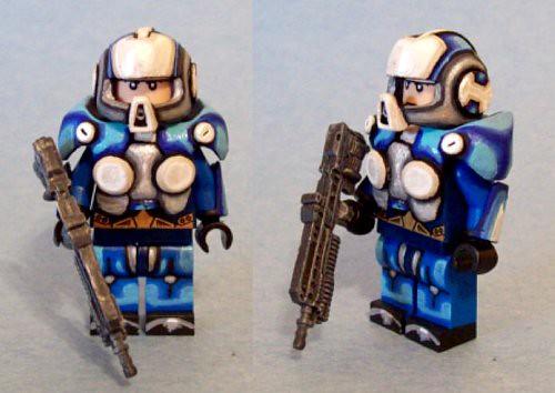 Custom minifig GOW #3