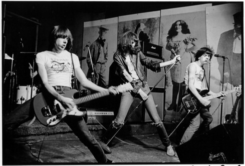 Patti smith and Ramones