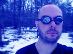 frozen (setlasmon) Tags: new york nyc selfportrait newyork halloween self photography seth photos narcissism manhattan photoediting spt newyorkers twitter rareform selfportraitthursday setlasmon sethalexanderlassman sethlassman setalexandor