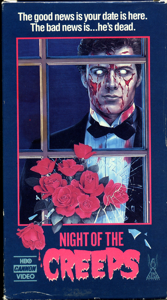 Night of the Creeps (VHS Box Art)