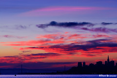 San Francisco morning sunrise color (davidyuweb) Tags: sanfrancisco california morning usa color sunrise san francisco sausalito sfbay sfist