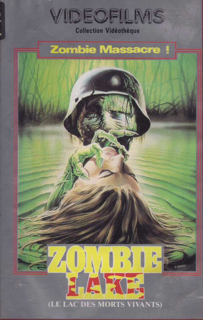 Zombie Lake (VHS Box Art)