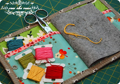 FMF Needle Case (joomoolynn) Tags: west book ross doll market embroidery heather sewing hill felt case needle fancy quilted stacking schmidt hr flea russian fmf denyse matyroska