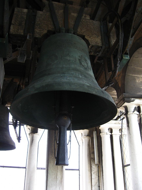 鐘楼の鐘のフリー写真素材