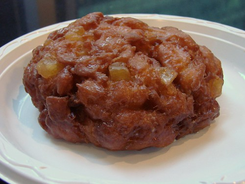 Apple Fritter from Dean and Deluca