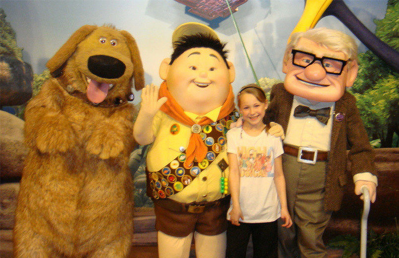 The worlds best photos by love disney characters flickr hive mind disney world meet greet characters from up dug russell carl love disney characters tags m4hsunfo