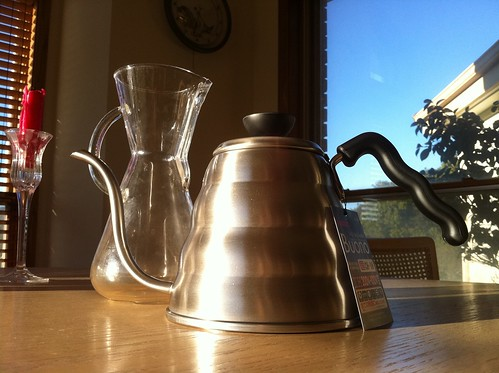 Hario Buono Kettle and Chemex