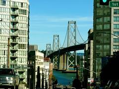 Bay Bridge View (Demetrios Lyras) Tags: windows building architecture bay bluesky baybridge soma sfist sanfranciscocalifornia