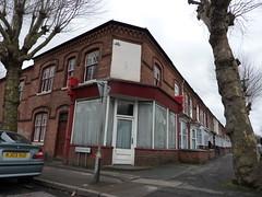 100 Osborn Rd, Sparkbrook. (Caroline & Phil Bunford) Tags: old houses birmingham shops rd ghostsign terraced sparkbrook osbornroad