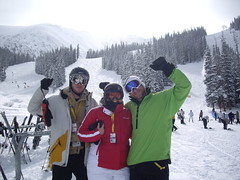 - Hanging out in A-Basin