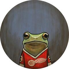 """Cameron"" (verpabunny) Tags: venice painting acrylic ferris cameron frogs gallery1988 orignal kellyvivanco ferrisbullersdayoff g1988 roadtoshermer"