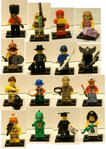 lego collectors series 5 minifigs