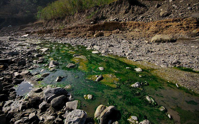 枋山溪溫泉小河
