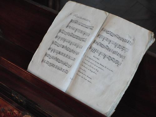 pianoforte y su partitura