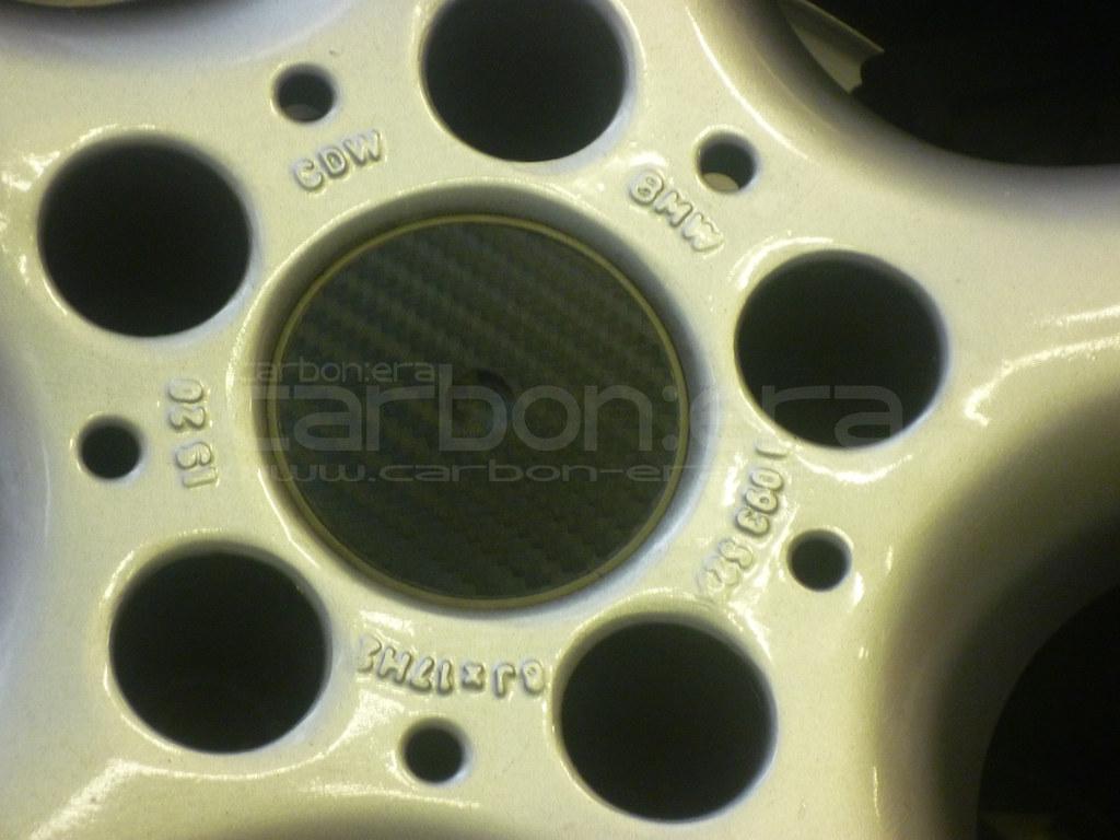 BMW 5-Series CARBON:ERA Carbon Wheel Centre Caps
