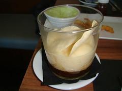 Carrillada estofada con crema de patatas