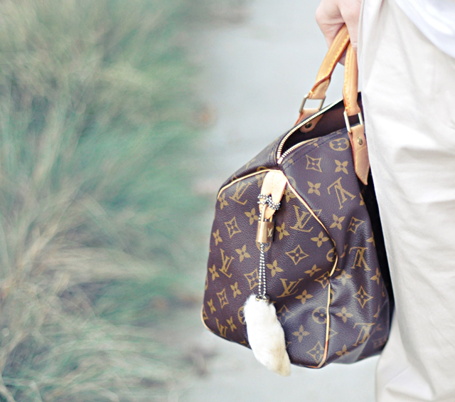 louis vuitton speedy, vintage rabbit's foot, speedy bag, louis vuitton, DSC_0051
