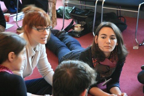 Feedback session at the British Council, Paris