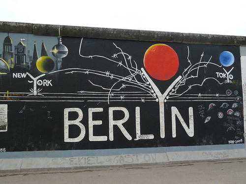 New York - Berlin - Tokyo - East Side Gallery, Berlin