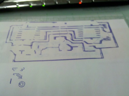 My First PCB Printout