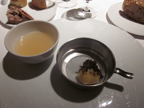 El Celler de Can Roca - Girona - February 2011 - Truffled Brioche and Pot au Feu Broth