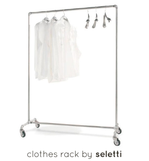 Clothes rack by Seletti