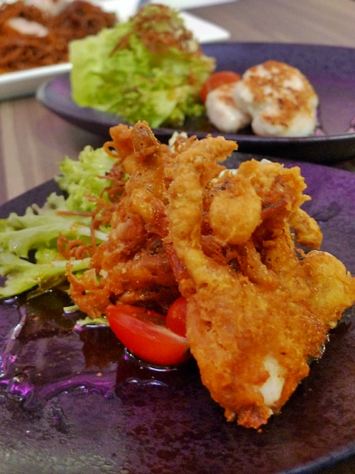 Deep Fried Soft Shell Crabs