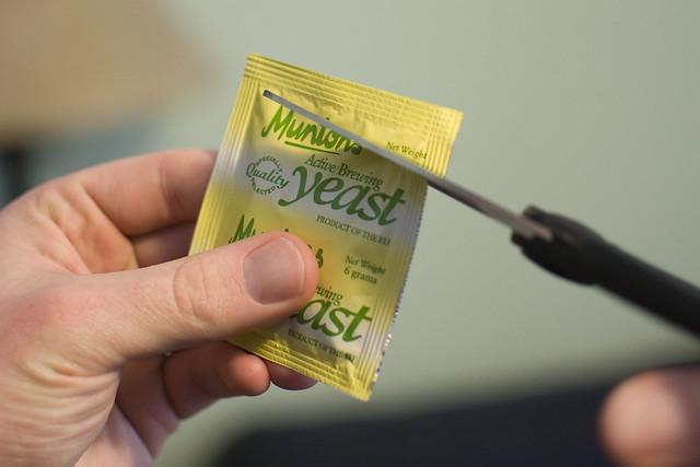 opening yeast