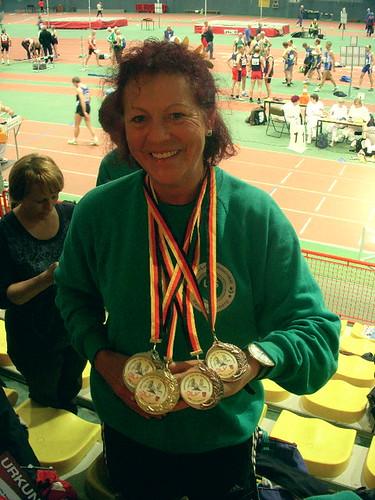 Medaillenkönigin Gabi
