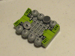 Lime Green Greeble Panel (-Mainman-) Tags: green panel lego lime greeb 2011 greeble tablescrap