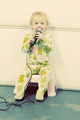 Miss P singing