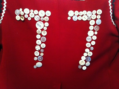 77 in buttons