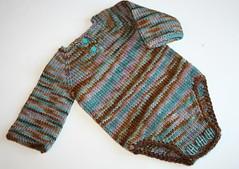 Magnolia Onesie - knitters version