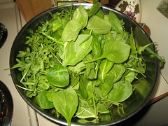 Spinach and Arugula