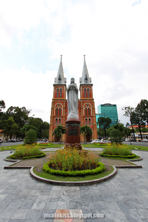 Notre Dame Cathedral in HCMC