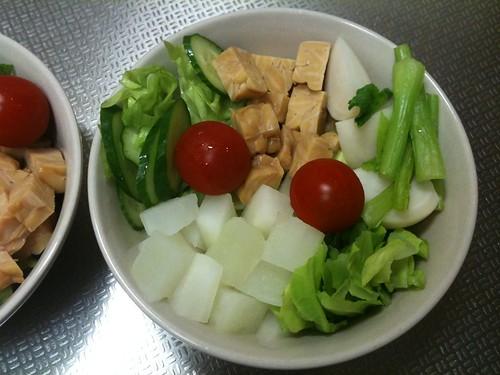 朝食サラダ(2011/2/26)