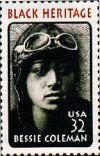 Bessie Coleman stamp