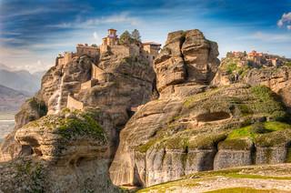 Meteora - Twin Monasteries - (HDR Greece)