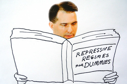 Scott Walker Studying Up on How to Close the Capitol