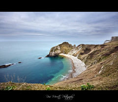 Man O War Bay (Ross Merritt Photography) Tags: ocean sea cliff beach bay coast ross sand cliffs merritt lulworth manowar dorsetcoast