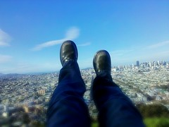 Above SF at Bernal Hill
